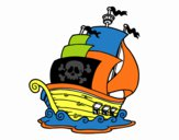 Navio de piratas
