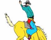Vaqueiro a cavalo