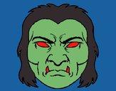 Desenho Monstro pintado por Kenn