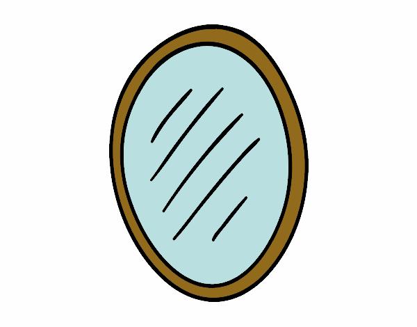 Imagens De Banheiro Para Colorir : Desenho de espelho para casa banho pintado e colorido