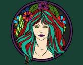 Desenho Princesa do bosque 2 pintado por MONICANINA