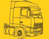 Desenho Camião 5 pintado por renatocost
