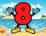 Número 8