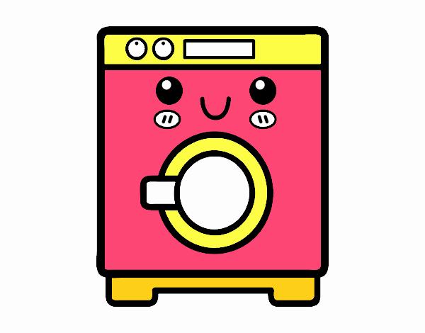 desenho de m quina de lavar roupa pintado e colorido por usu rio n o registrado o dia 22 de. Black Bedroom Furniture Sets. Home Design Ideas