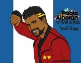 Desenho Pablo Alborán cantante pintado por WilianMart