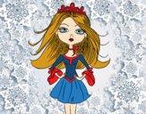 Desenho Princesa moderna pintado por paloma-03