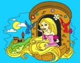 Desenho Princesa Rapunzel pintado por paloma-03