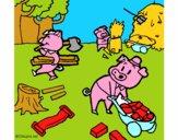 Os três porquinhos 1