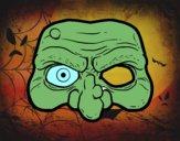 Máscara de bruxa