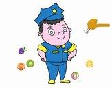 Oficial de agente de polícia