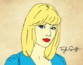 Desenho Taylor Swift pintado por dannielly