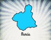 Desenho Murcia pintado por jungel