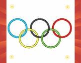 Argolas dos jogos olimpícos