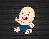Bebê sorrindo