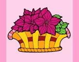 Cesta de flores 8