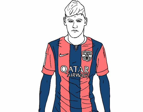 Neymar Desenho De Yoseob04 Gartic