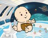 Bebê curioso