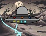 Navio extraterrestre invasora
