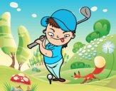 Desenho O golf pintado por ImShampoo