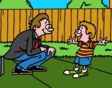 Pai com filho