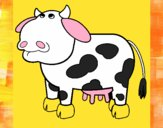 Vaca pensativa