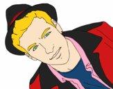 Mario Casas com chapéu