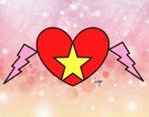 Coração estrela