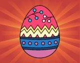Desenho Um ovo de páscoa pintado por Olga53