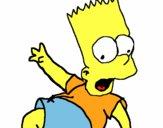 Desenho Bart 2 pintado por Jujuli