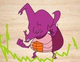 Besouro rinoceronte zangado