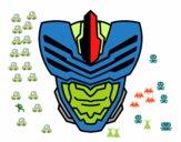 Desenho Máscara homem mosca pintado por Gustavo201