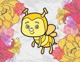 Uma abelha