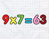 9 x 7