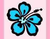 Desenho Flor surfista pintado por carmasiana