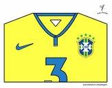 Camisa da copa do mundo de futebol 2014 do Brasil