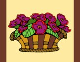 Cesta de flores 10