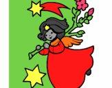 Desenho Ninfa natalícia pintado por IsabelDiva