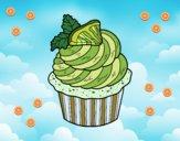 Desenho Cupcake de limão pintado por DaniBello