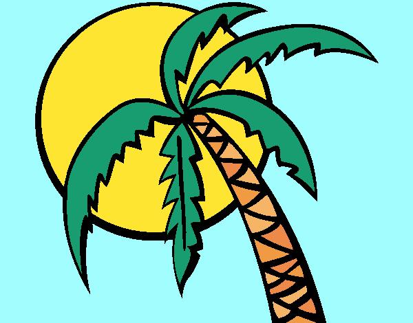 Desenho Verão pintado por Craudia