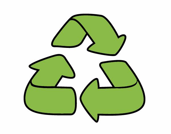 desenho de reciclagem pintado e colorido por usuário não registrado