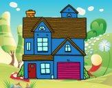 Casa de família americana