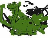 Dinossauro Diplodoco
