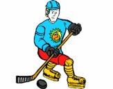 Jogador de hoquei no gelo