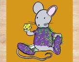 Rata com queijo