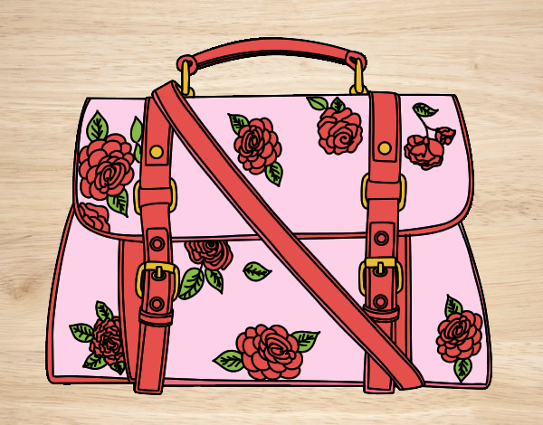 Desenho Saco florido pintado por Craudia