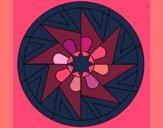 Desenho Mandala 25 pintado por ceciliaz