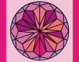 Desenho Mandala 41 pintado por ceciliaz