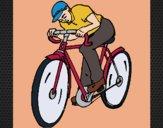 Desenho Ciclismo pintado por Craudia