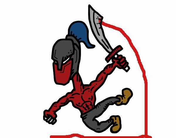 Gladiador robusto