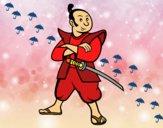 Samurai adulto